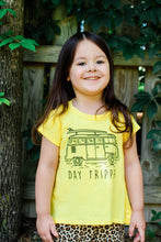 Day Tripper Girls Tee in Yellow