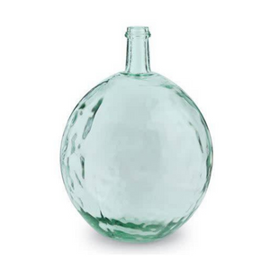 Clear Bulb Bottle - Recycled Spanish glass