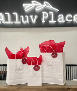 Holiday Gift Bag & Tissue - Small to Medium Gift