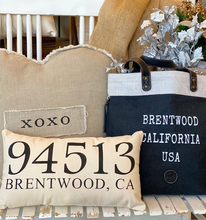 NEW Zip code Pillow (94513 Brentwood, CA)