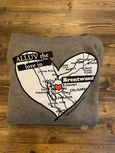 Alluv the Love in Brentwood Medium Grey