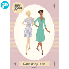 1940's Wrap Dress - Sew Over It