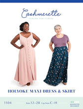 Holyoke Maxi Dress & Skirt - Cashmerette