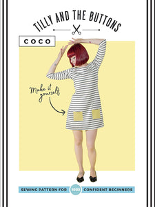 "Adults - Introduction to Sewing Stretch knits - ""Sewing Coco Top"""