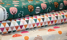 Colourful Trees - Geo Collection - Cotton
