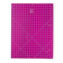 Cutting mat cm/inch divisions - 45x60cm - pink
