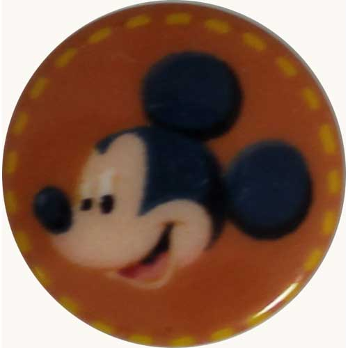Mickey Mouse Extra Small Disney Button - 10mm