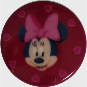 Minnie Mouse Extra Small Disney Button - 10mm