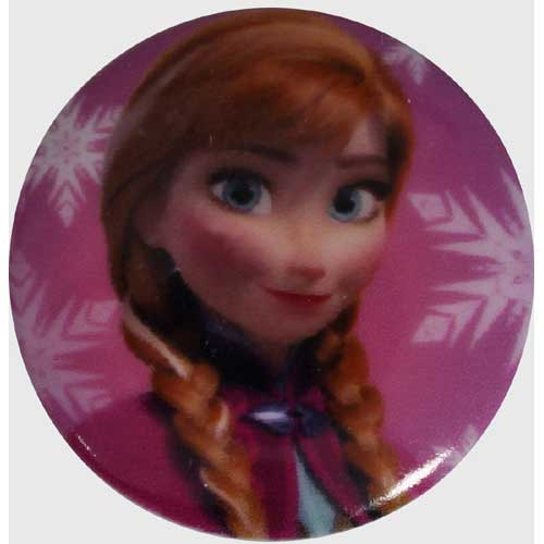 Anna Large Disney Button - 25mm