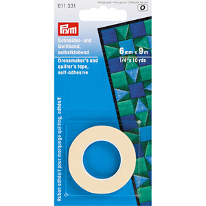Dressmaker's and quilter's tape adhesive - 6mm x 9m