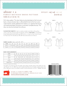 Family Reunion Dress - oliver + s