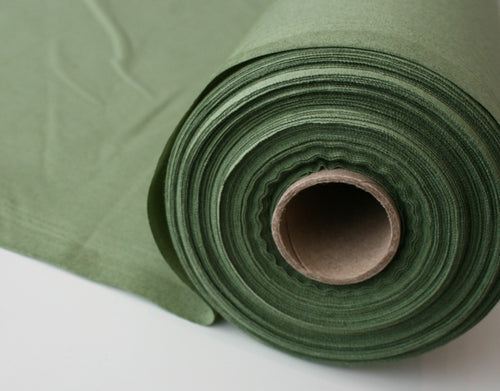 Solid Green - Cotton Poplin