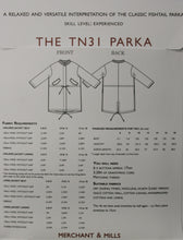The TN31 Parka - Merchant and Mills