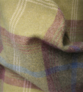 Pistachio Balmoral - Soft Furnishing Polyester/Cotton Mix