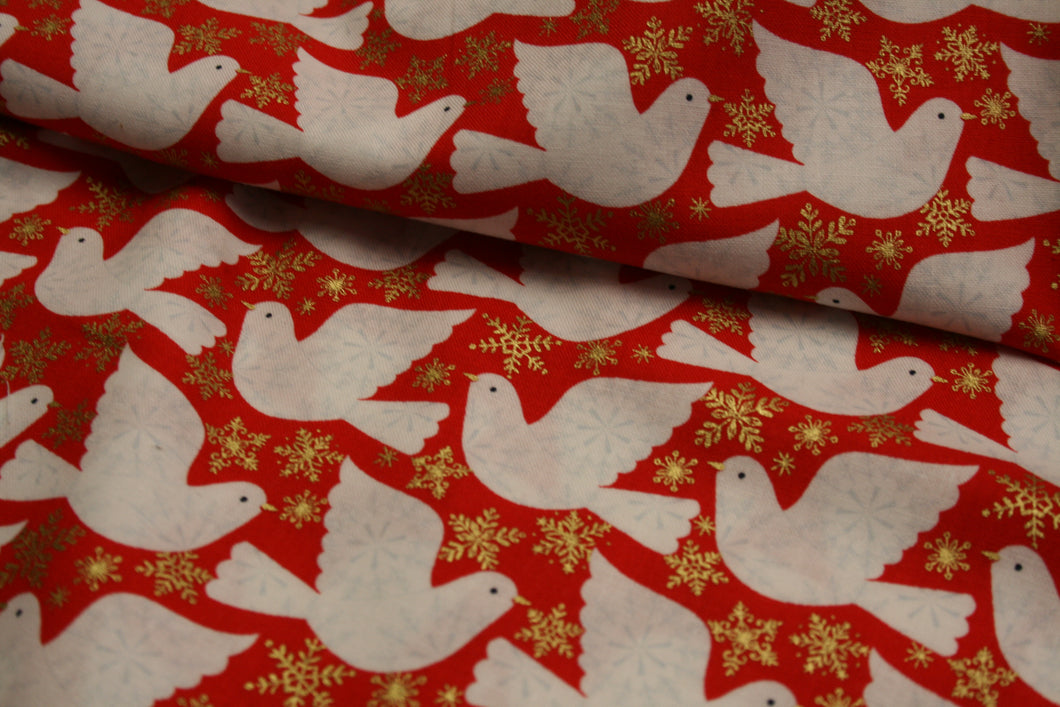 Christmas Birds - Skogen Collection - Cotton