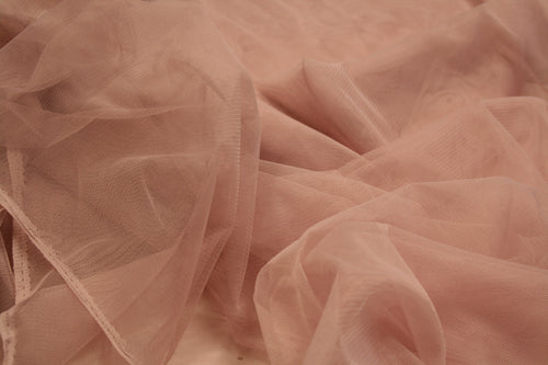 Dusty Pink - Super Quality Soft Tulle