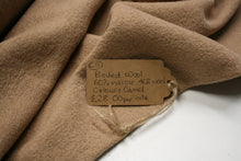 Solid Camel - Boiled Wool