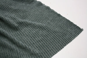 Dusty Green - Chenille Rib