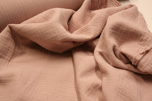 So Soft Bambino Dusty Pink - Double Gauze