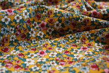 Mustard Flowers - Cotton Poplin