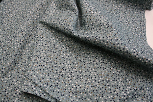 Dusty Duck Egg Dots - Cotton Poplin