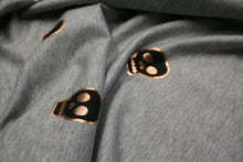 Gold Foil Skulls - Brushed French Terry