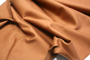 Solid Mocha - Cotton Twill