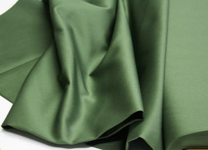 Solid Basil - Cotton Twill