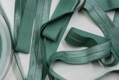 Mint - Stretch Shiny Bias Tape - 20mm