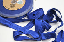 Cobalt - Stretch Shiny Bias Tape - 20mm