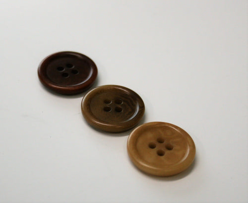 Traditional  Rimmed Bonfanti Buttons