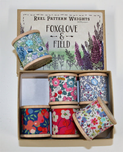 Liberty Wishes - Pattern Weights - Foxglove & Field