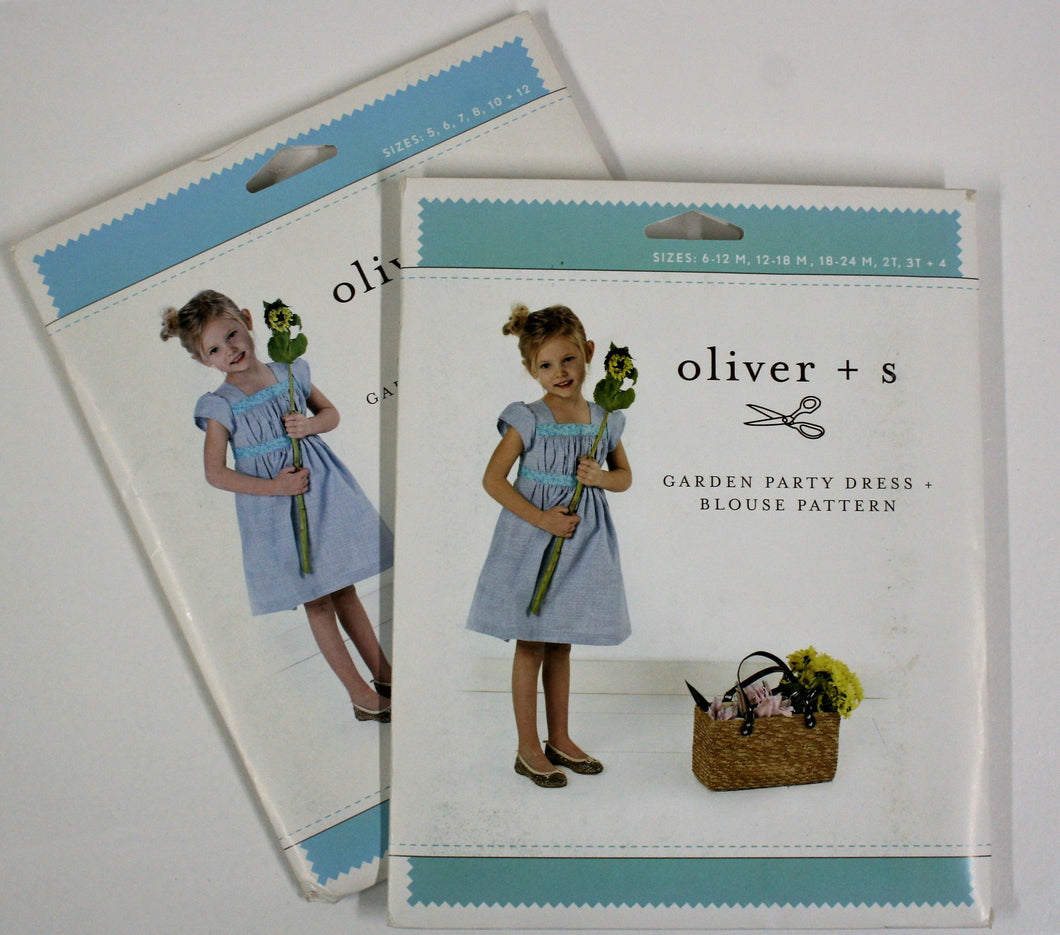 Garden Party Dress + Blouse - oliver + s