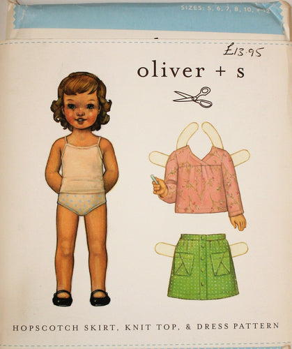 Hopscotch Skirt, Knit Top & Dress - 5yr-12yr - oliver + s