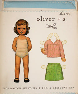 Hopscotch Skirt, Knit Top & Dress - oliver + s