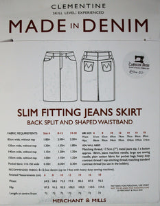 Clementine - Made in Denim - Merchant and Mills