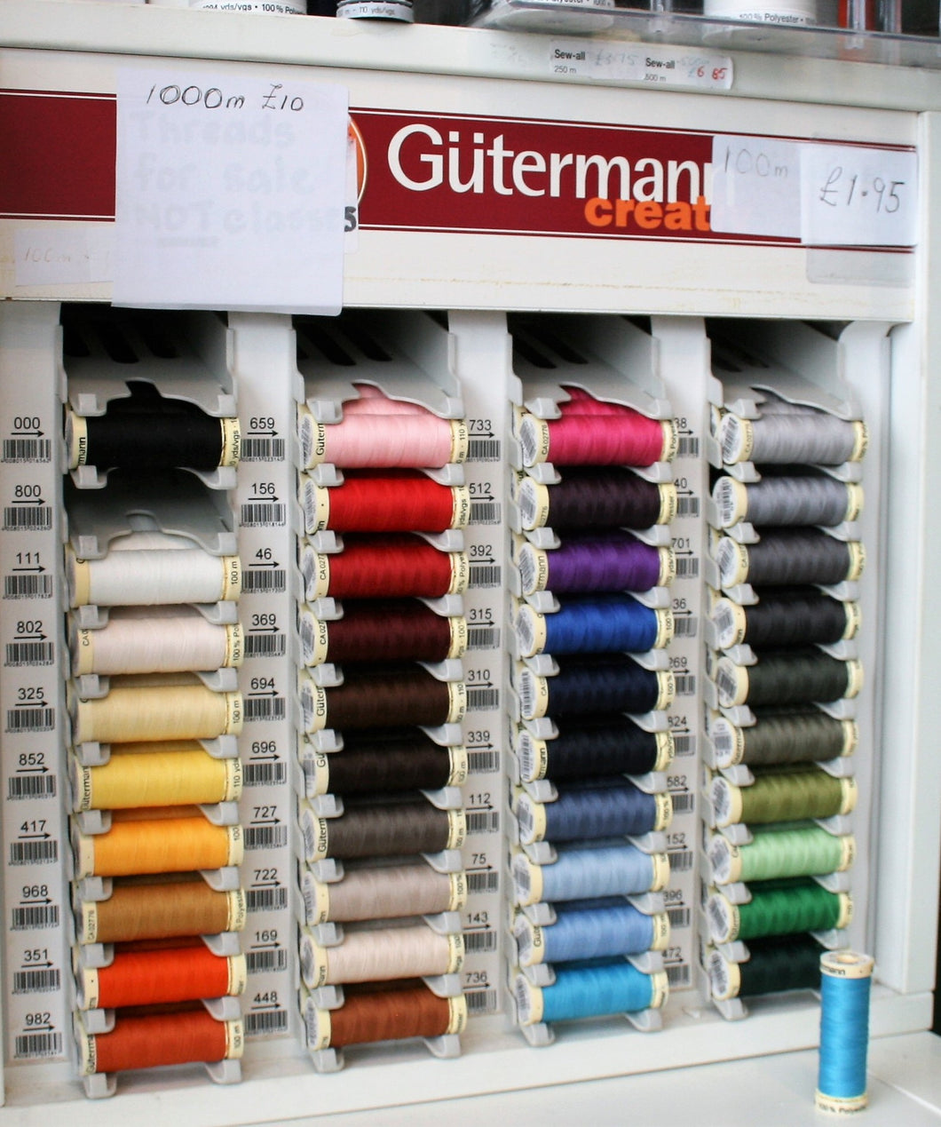 Gutermann - 100m - All Sew Thread