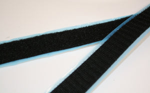 Texacro Black Stick On - Velcro