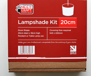 20cm Lampshade Kit - Need Craft