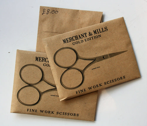 Fine Work Scissors (Gold Addition) - Merchant & Mills