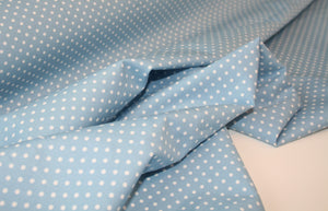 Pale Blue Dot - Cotton Poplin