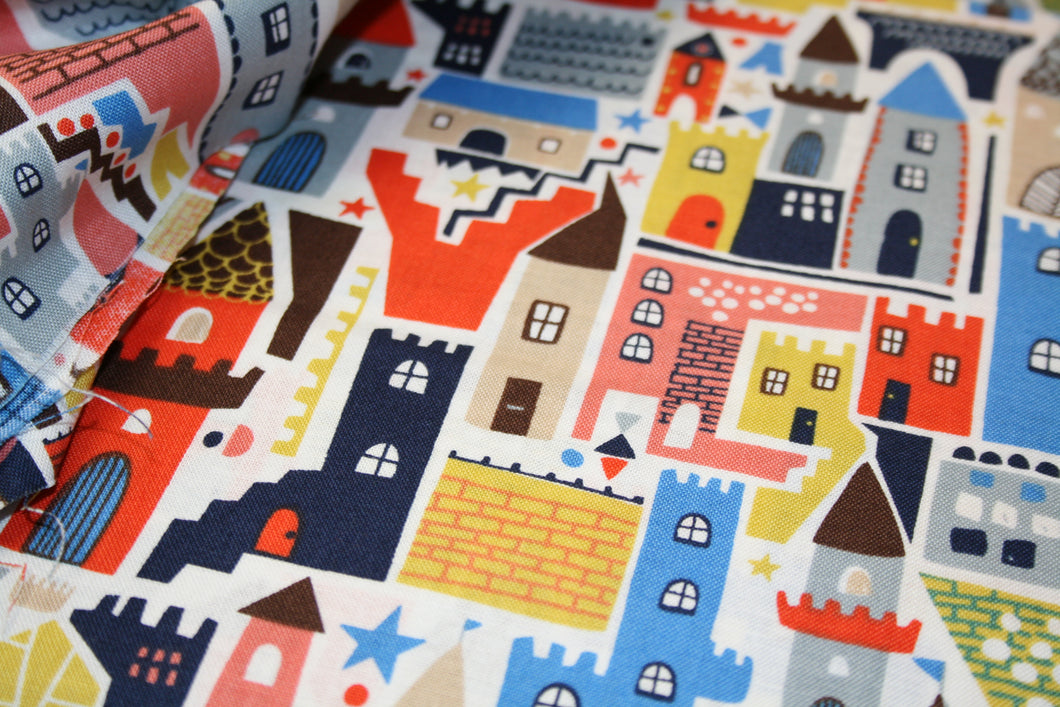 Buildings - Roar Collection - Cotton