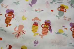 Mermaids - Under the Sea Collection - Cotton