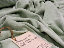 Fizzy Apple Stretch Cotton Towelling - Merchant & Mills - Cotton