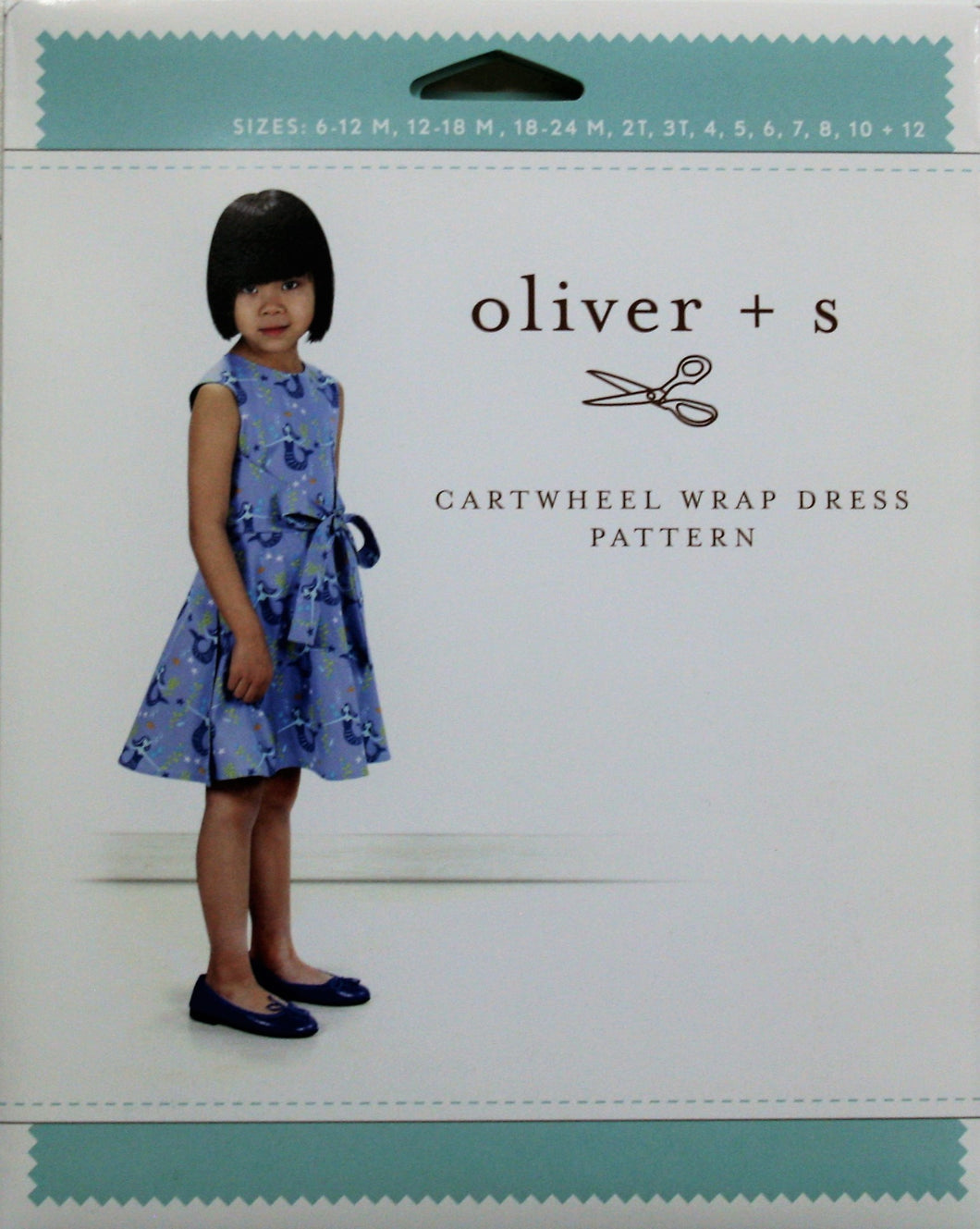Cartwheel Wrap Dress - oliver + s