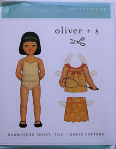 Badminton Skort, Top, and Dress - oliver + s