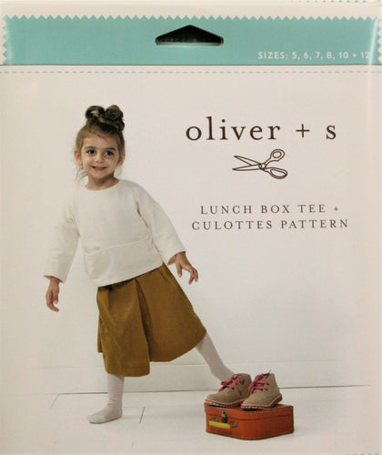Lunch Box Tee and Culottes - oliver + s