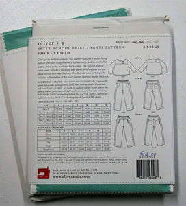 After-School Shirt and Pants - oliver + s