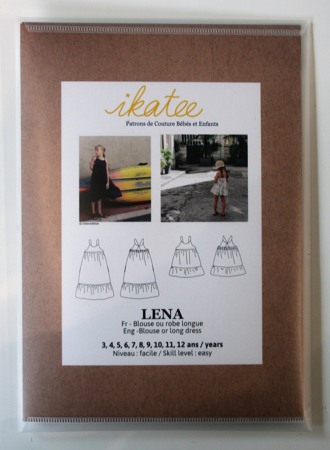 Lena Girls 3yr-12yr - Blouse & Dress - ikatee
