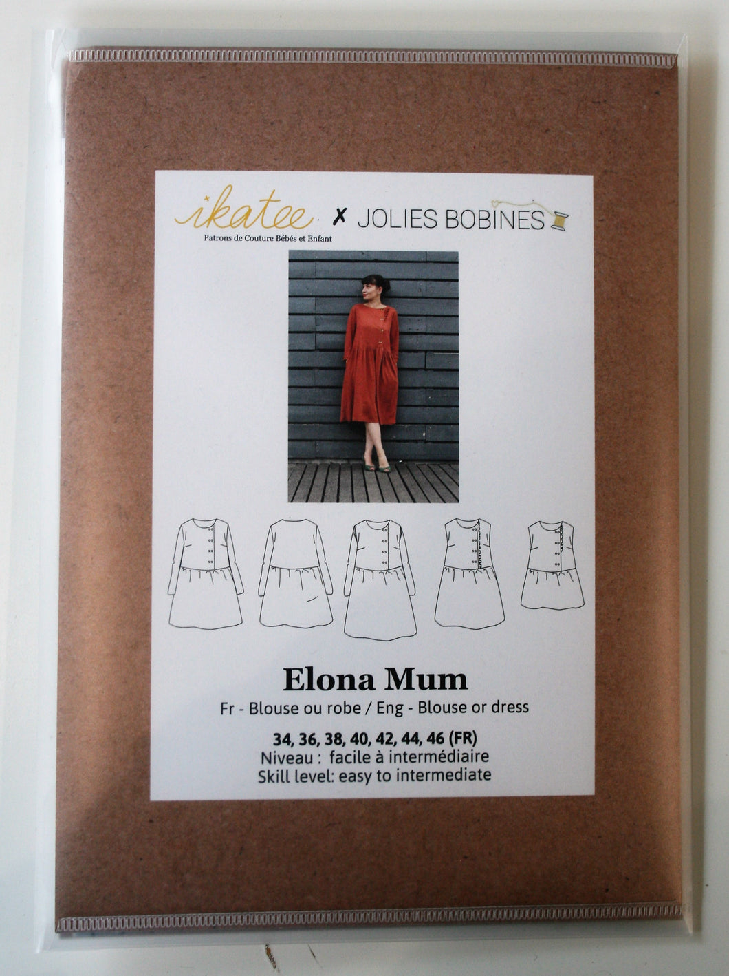 Elona Mum - Blouse & Dress - ikatee